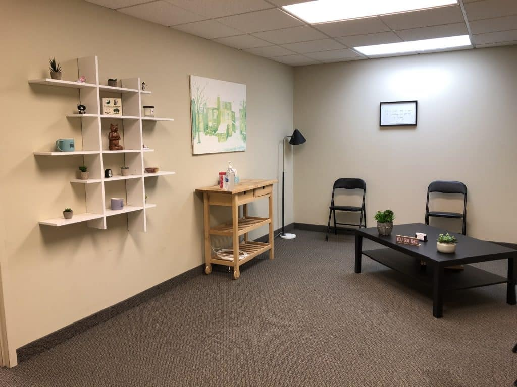 Inside office for 195 King St Suite 103, Cameron Counselling
