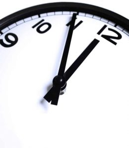 Time on clock for therapy and counselling in St. Catharines